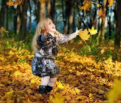 Осень, дети