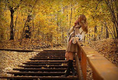 Осень ! ..Пойдёмте гулять по аллеям ..!